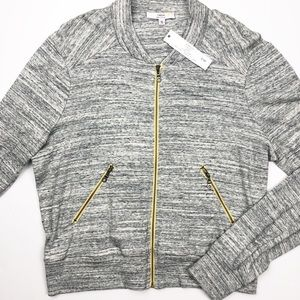 NWT Drew Jacket By Anthropologie- Grey